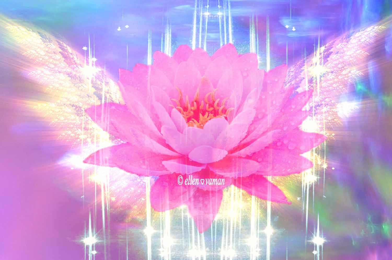 Take Your Seat On The Thousand Petals Of The Lotus And Gaze On