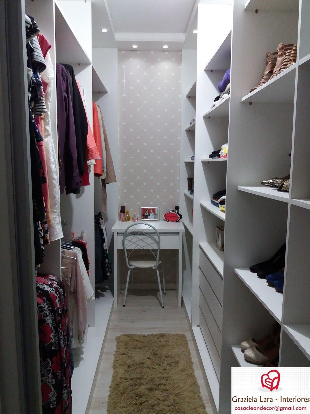 Tour Closet Sob Medida - Dicas de Organização e Decoração