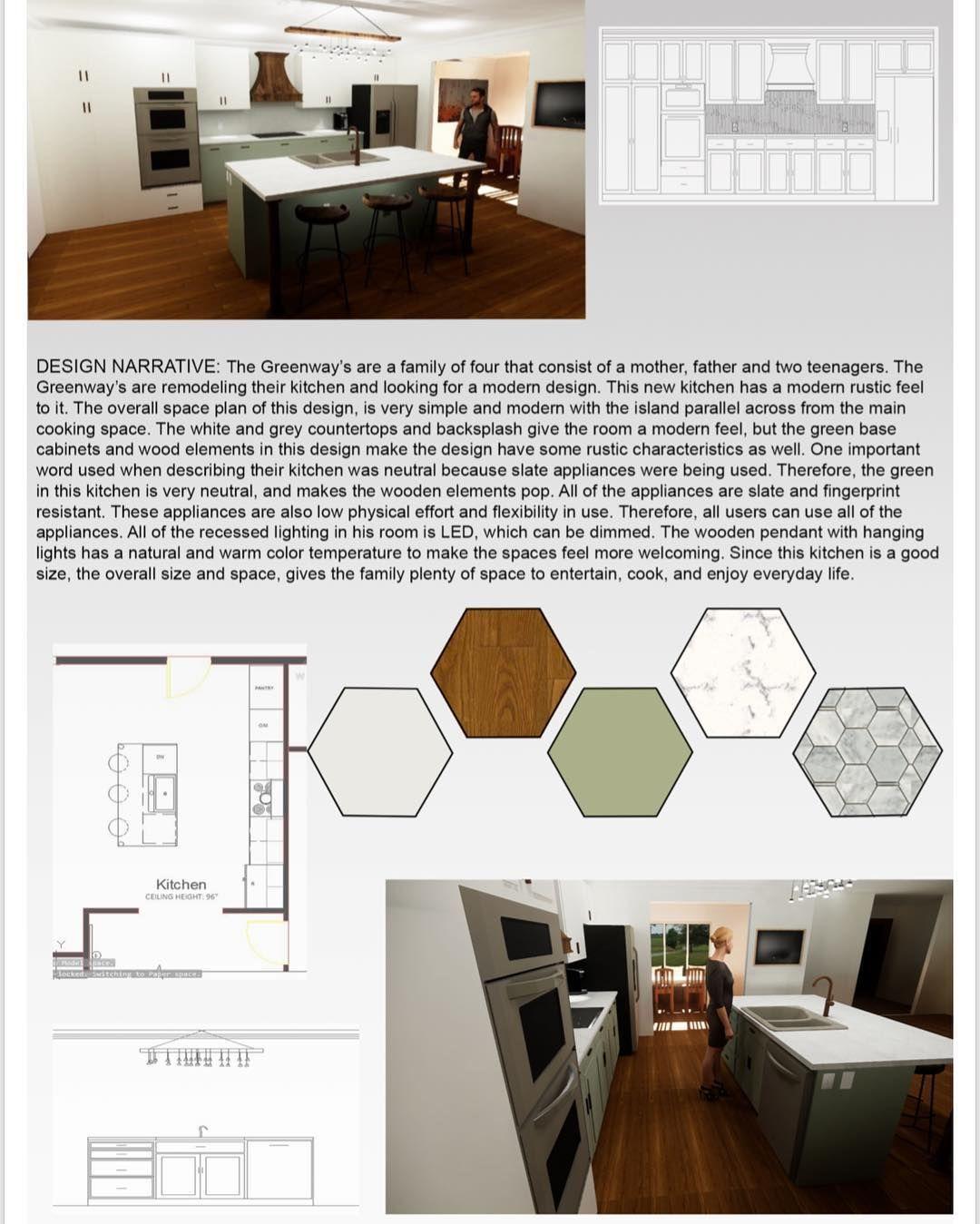 kitchen and bath • presentation board • made in photoshop #kitchen