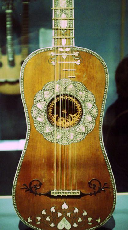 Matteo Sellas (c.1599-1654) - Baroque Guitar - Venice (ca.1630-50)