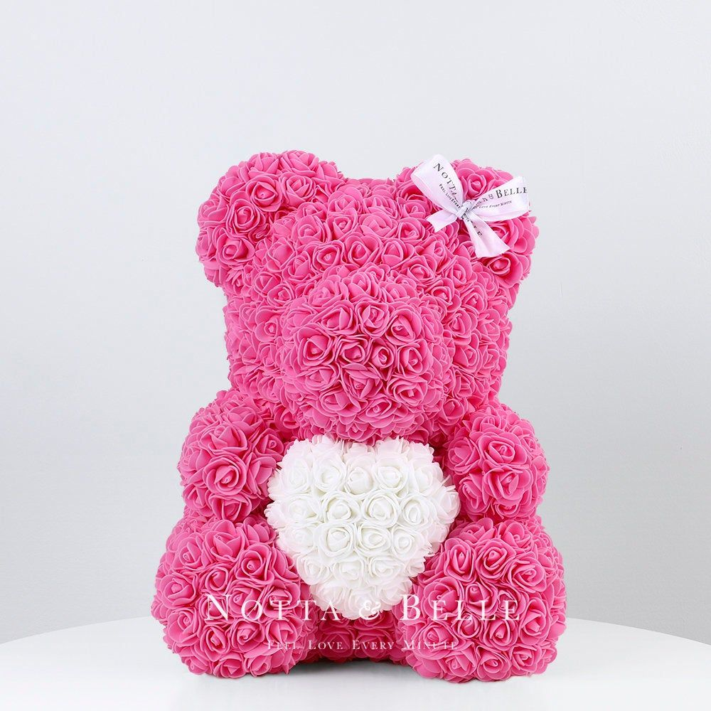 Rose Bear Bear Made Out Of Roses Rose Bears For Valentines Day Luxury Rose Teddy Bear Forever Rose Teddy Bear Forever Rose Bear Rosebear In 2020 Forever Rose Valentines Valentine