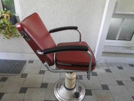 Verkaufe Friseurstuhl Frisörstuhl Loft Rockebilly 50er 60er In