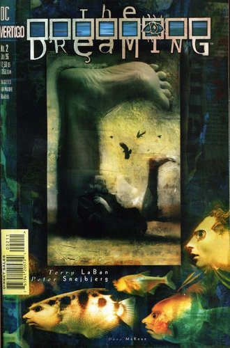 We like Dave McKean.