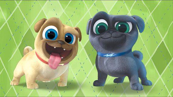 Puppy Dog Pals Edible Cake Topperpuppy Dog Pals Cupcake Puppy
