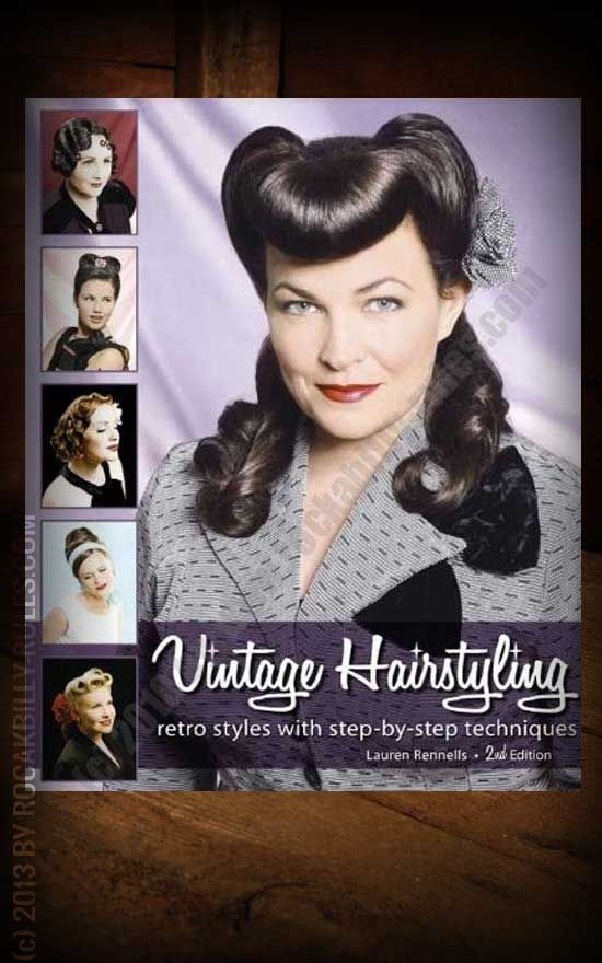 Buch Vintage Hairstyling By Lauren Rennells Books Magazines