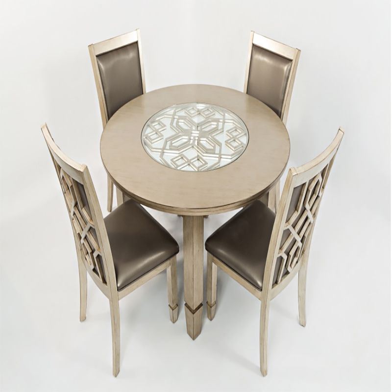 Casa Bella 5pc Round Dining Room Set | Dining Sets | Discount Direct  Furniture And Mattress
