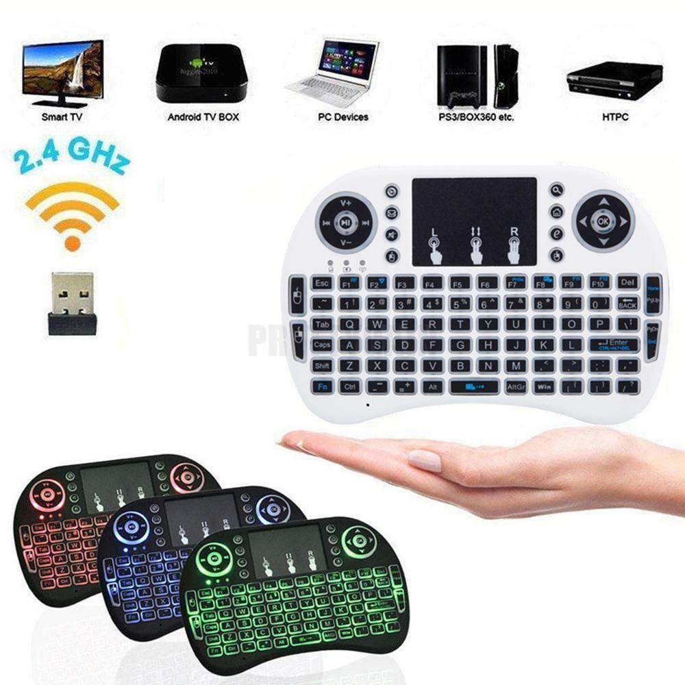 2.4GHz Mini Wireless Keyboard Remote Control Touchpad