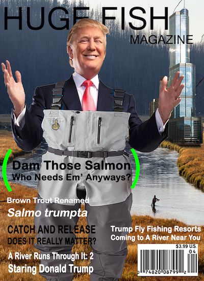 How A Trump Or Hillary Presidency Impacts Fishing The Reel Debate Fishing Humor Fishing Quotes Funny Fishing Memes