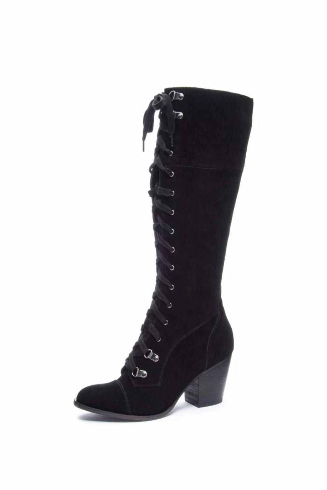 Chinese Laundry Keepsake Boots Knee Boots Black Boots