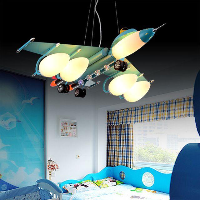 Luces Colgantes Led Avion Con 3 5 Bombillas Para Ninos Kids Room Dormitorio Moderno Lampara Regalos De Navidad Para Ninos Decoracion Para Ninos Diseno De Techo
