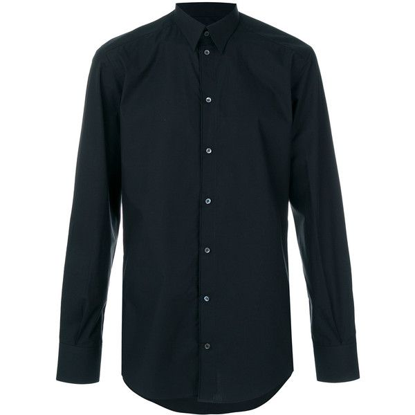 Dolce & Gabbana formal shirt ($345) ❤ liked on Polyvore featuring ...