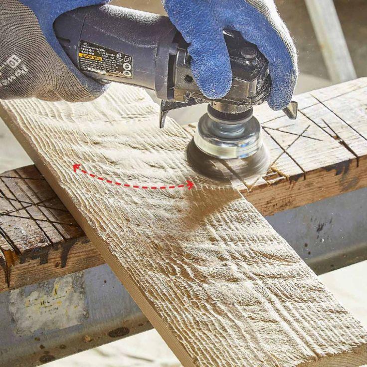 Machen Sie Ihr eigenes Scheunenholz #stainedwood