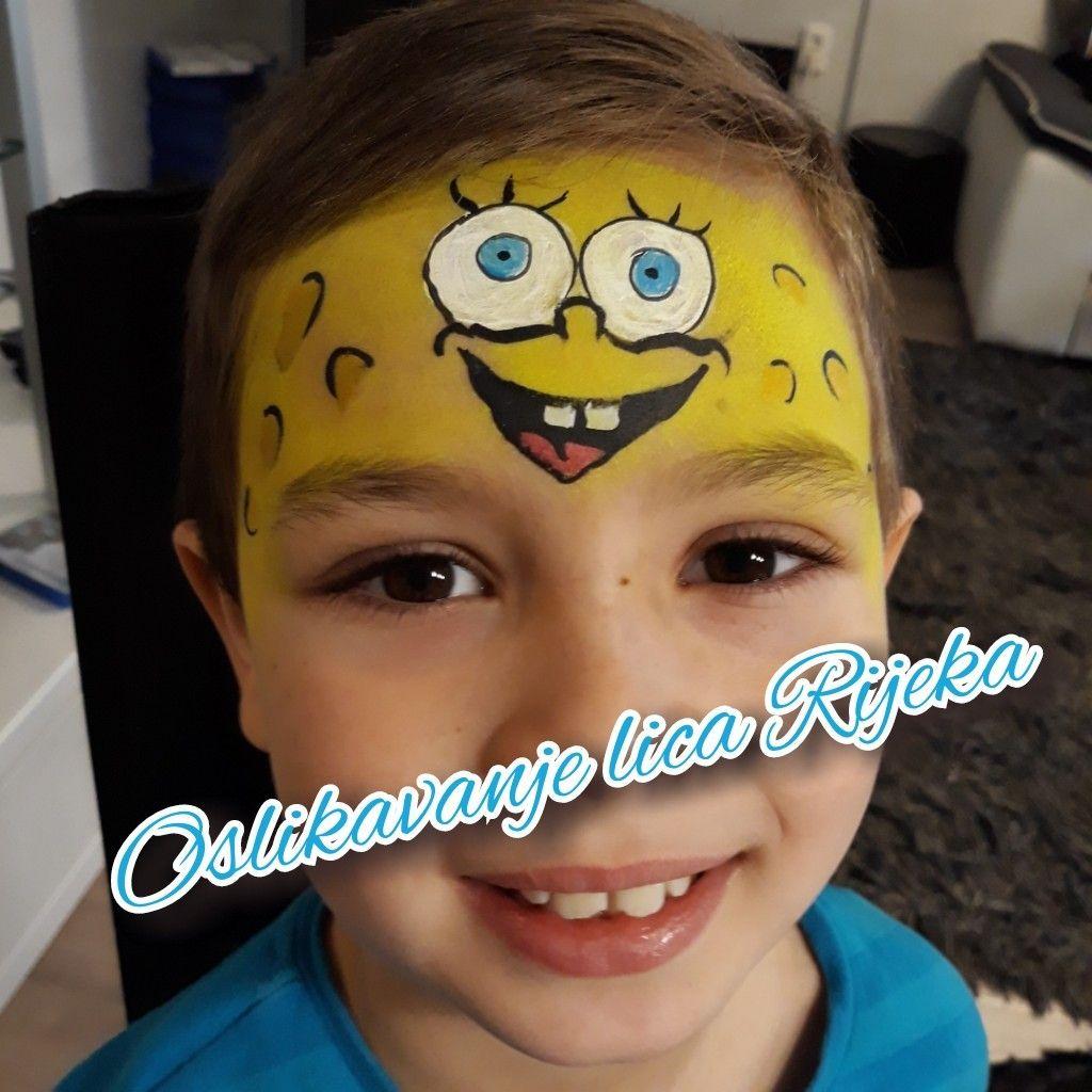 Spongebob Face Painting Face Painting Designs Face