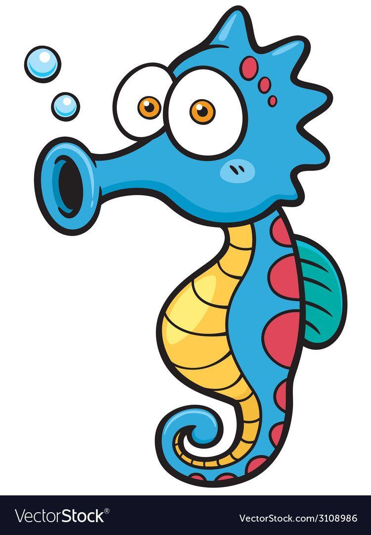 Seahorse Vector Image On Caracteristicas De Los Caballos Peces