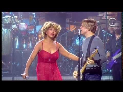 Iconcerts Tina Turner It S Only Love With Bryan Adams Live Music Performance Soundtrack To My Life Music Videos