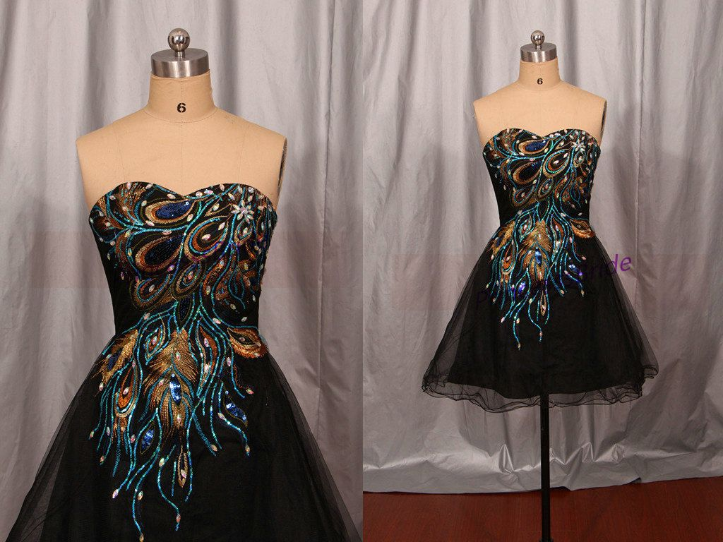 black tulle homecoming dress with by princesssbride on etsy