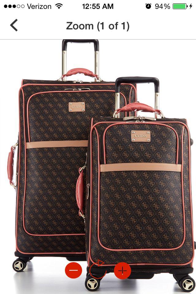 51e5cf51b7bf Guess luggage set