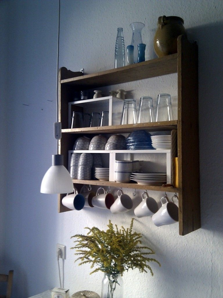 altes küchenregal.   ideas for a future home   pinterest   hells