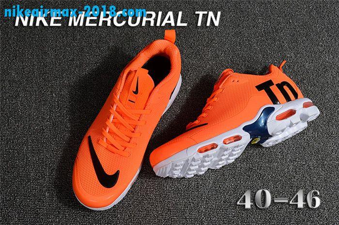 fe41a9cc22 Fashion Mens Nike Air Max TN KPU For Sale Orange Black White | Nike ...