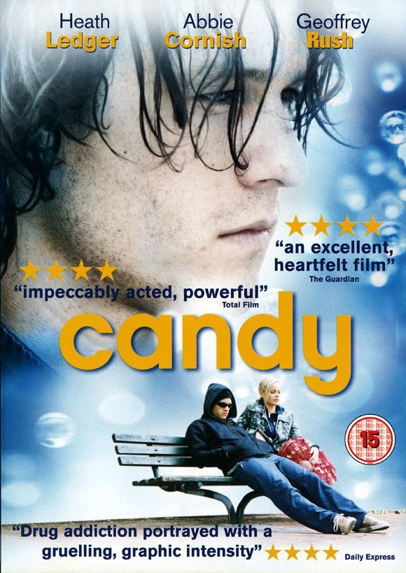 Candy Uk 11x17 Movie Poster 2006 Movie Posters Good Movies Heath Ledger