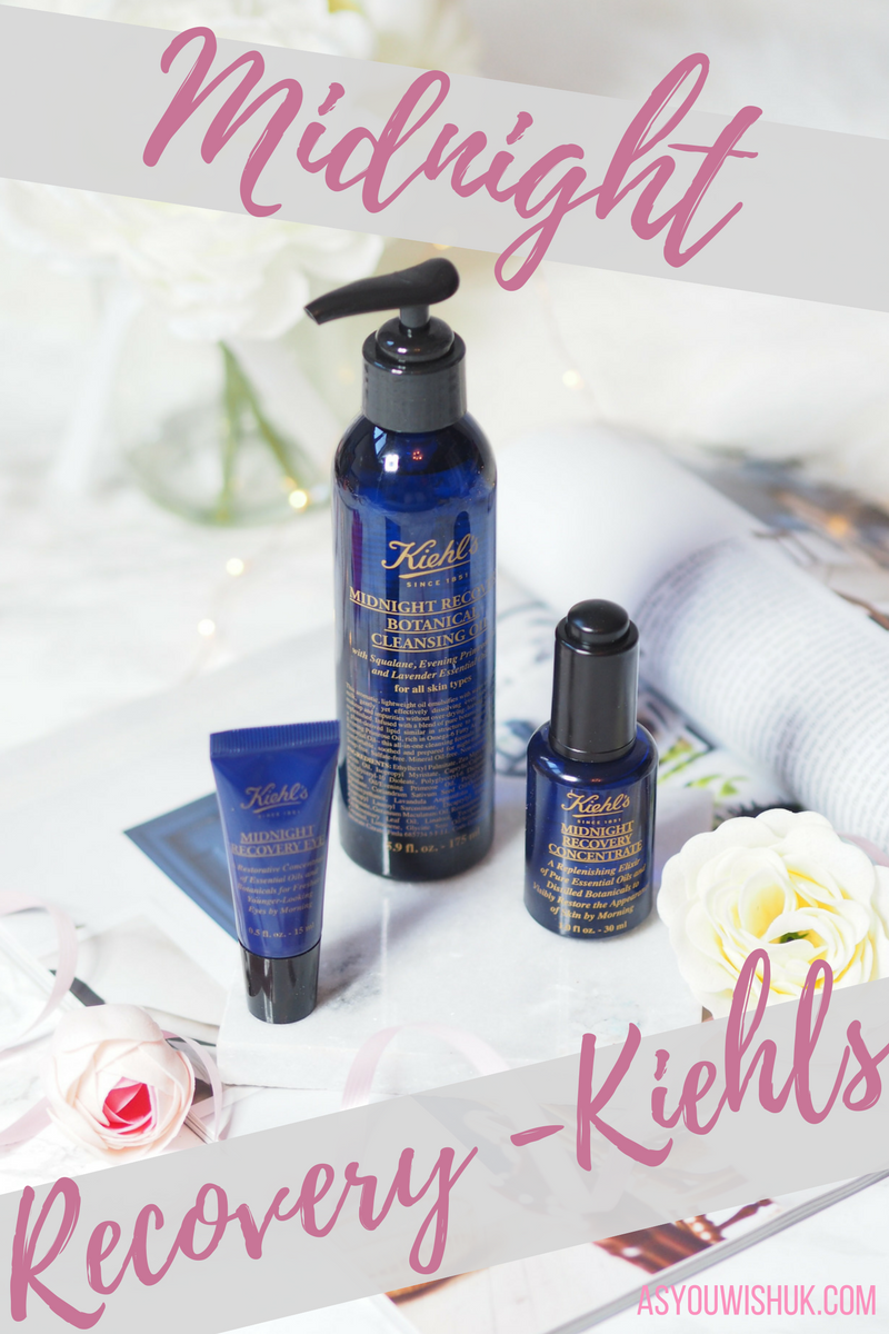 Midnight Recovery Kiehl's Range As You