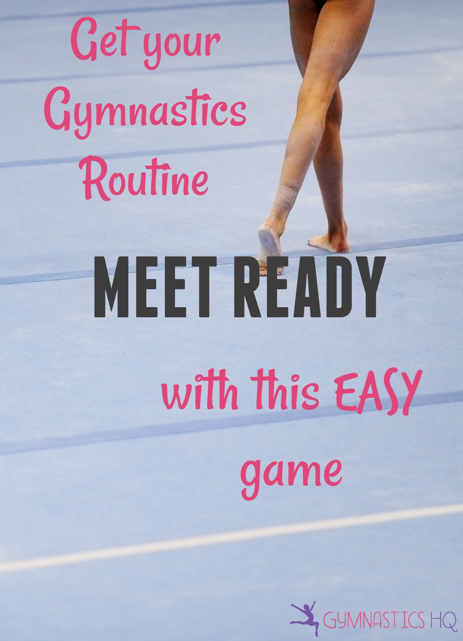 Get Your Gymnastics Routine Meet Ready With This Easy Game