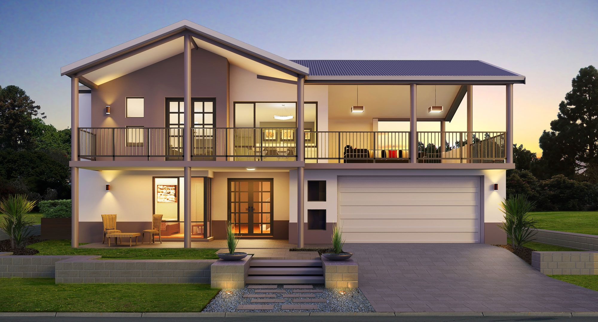 House designs panorama provincial also the two storey home builders rh pinterest