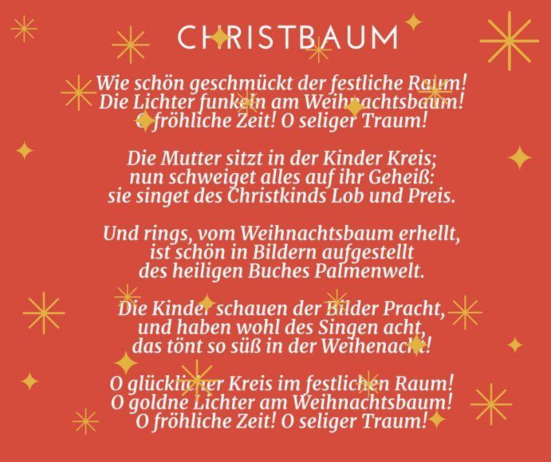 25 Gedichte Für Weihnachten Für Groß Und Klein Sprüche