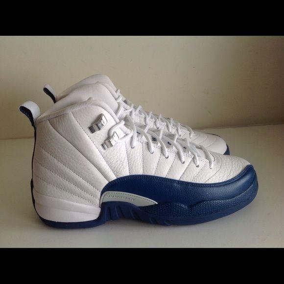 b67aa6ce1b68 ... French Blue Silver Brand new Air Jordan 12 Retro White French Blue  Silver kids size 6.5y