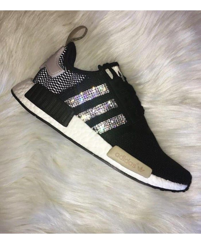 size 40 c7dfa 7b363 Adidas Nmd Crystal Black Beige Grey trainers for cheap