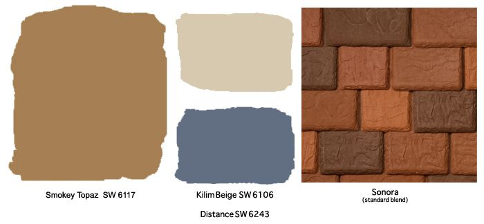 Paint colors to go with terracotta tile google search for Paint colors that go with terracotta