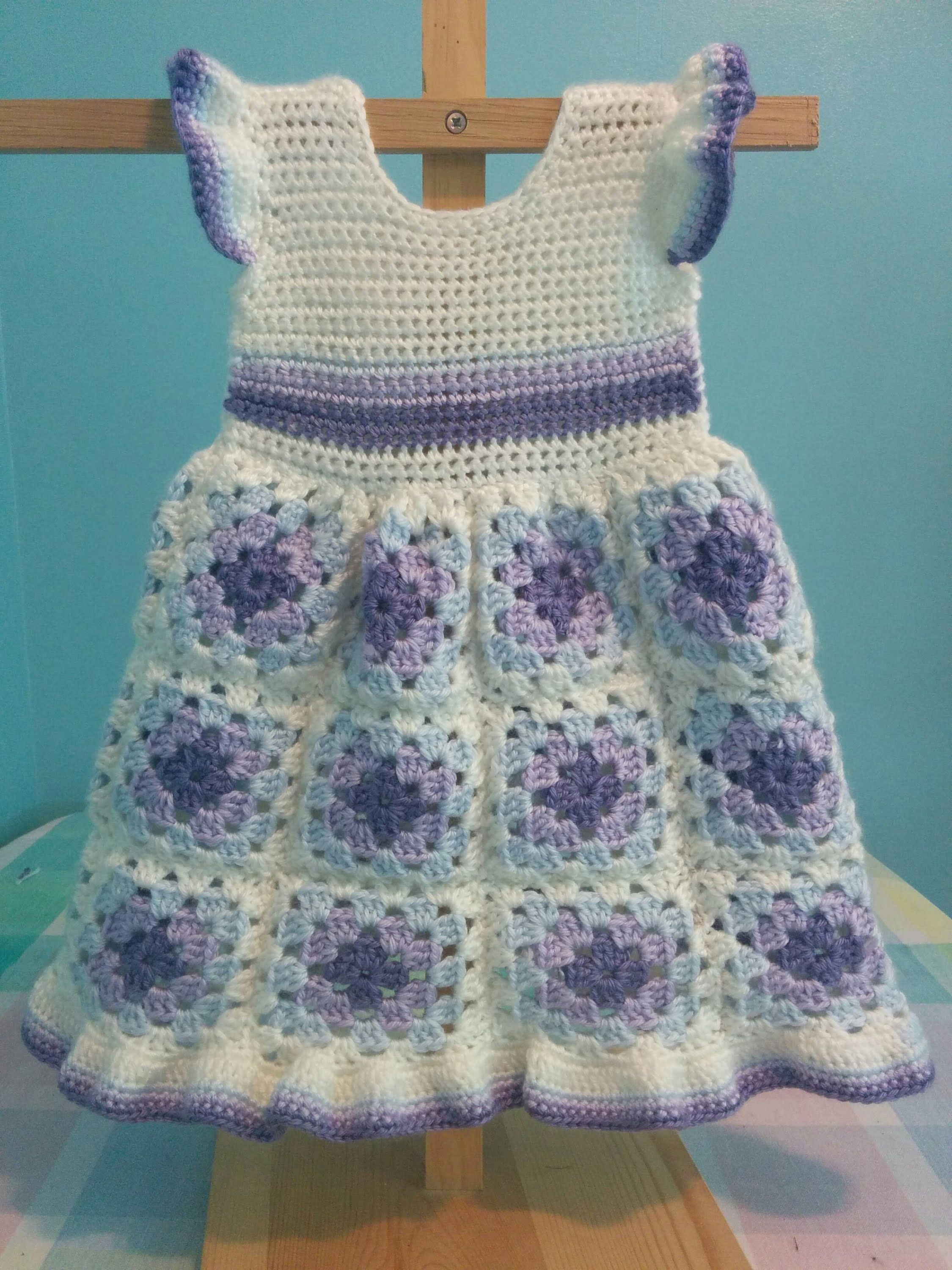 Crochet Simple Dress Pattern : All My Crochet Baby Dresses - Information and Comparison ...