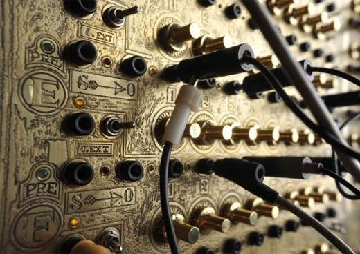 brass etched modular synthesiser modular synth groovebox steampunk steampunk guitar. Black Bedroom Furniture Sets. Home Design Ideas