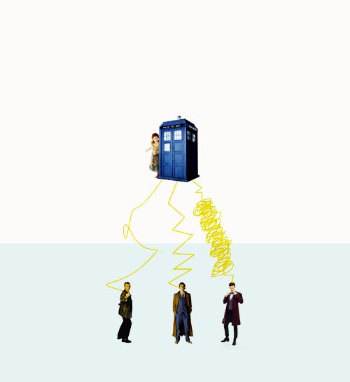 paths of the TARDIS