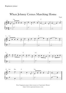 Free Sheet Music Scores | Christmas | Easy piano sheet music, Music