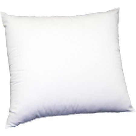 Beautyrest Euro Pillow For Square Decorative Shams White