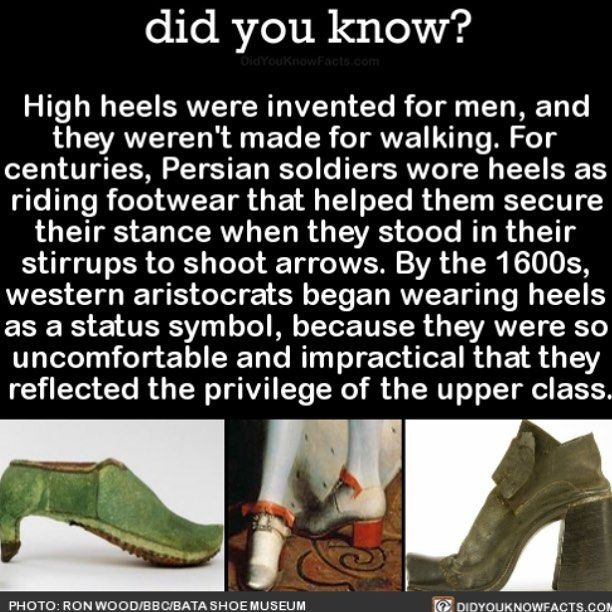 You fancy #interesting history #shoes #highheels Download our free App: [LINK IN BIO] #historyfacts