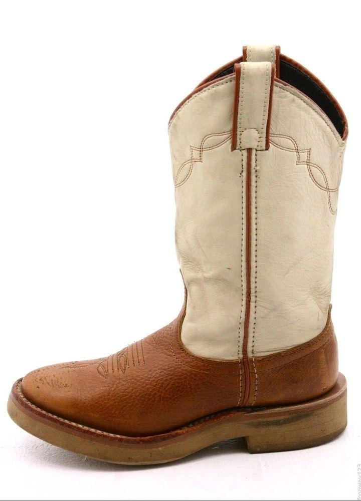 f0f80ab8fa0 Laredo womens cowboy boots size 6 M brown roper crepe sole western ...