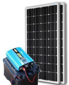 Solar Powered Generator 135 Amp 12000 Watt Solar Generator Just Plug And Play Solar Generator Solar Power Energy Solar Powered Generator