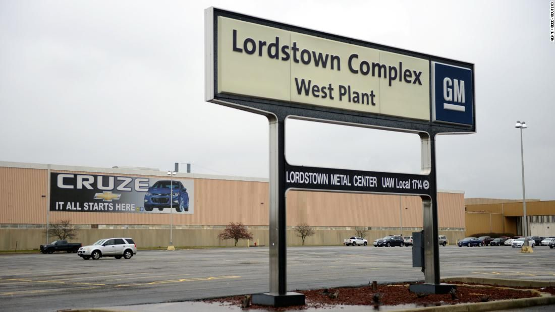 Production Will End At Gm S Lordstown Ohio Plant On Wednesday