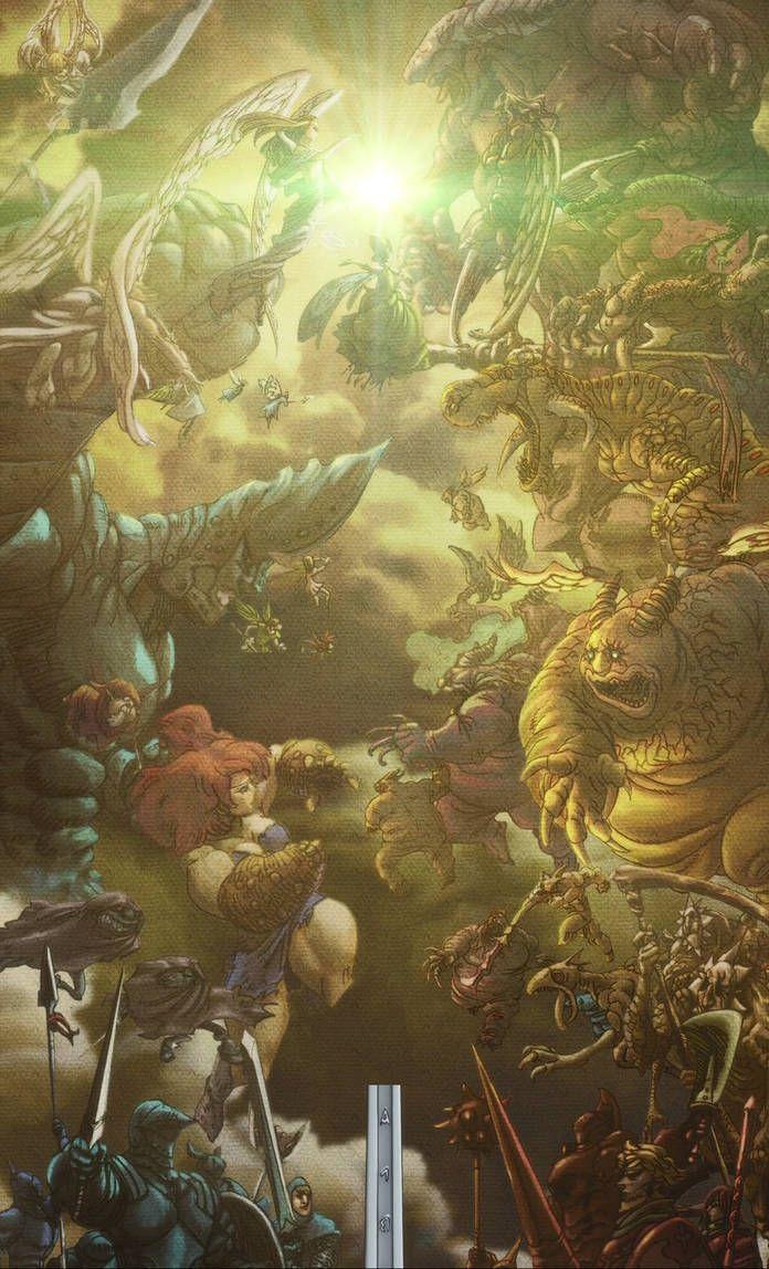 Ancient War By 15sok Ancient War Seven Deadly Sins Anime Anime Wallpaper 1920x1080