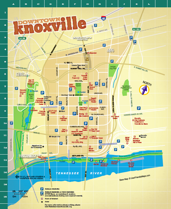 Worksheet. festival map knoxville  Chalk Walk  Downtown Knoxville Map