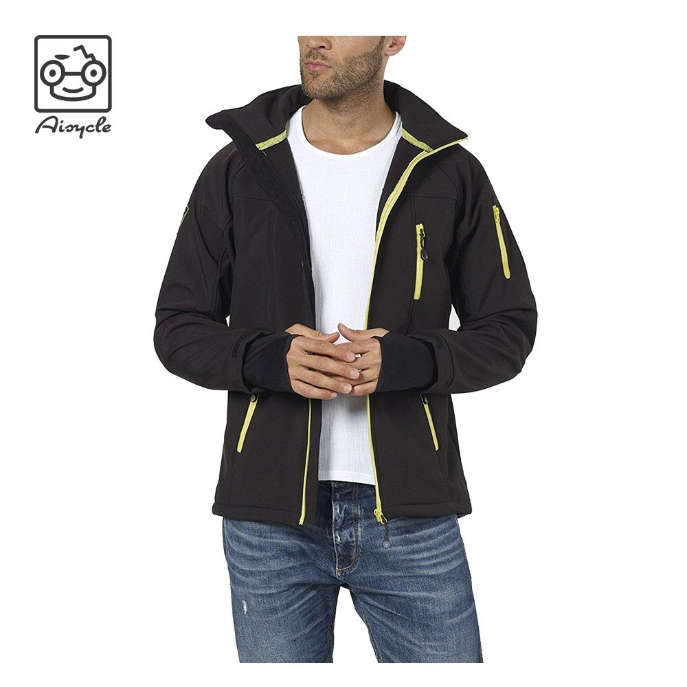 Wholesale Unisex Polyester Hooded Lined Windbreaker Jackets