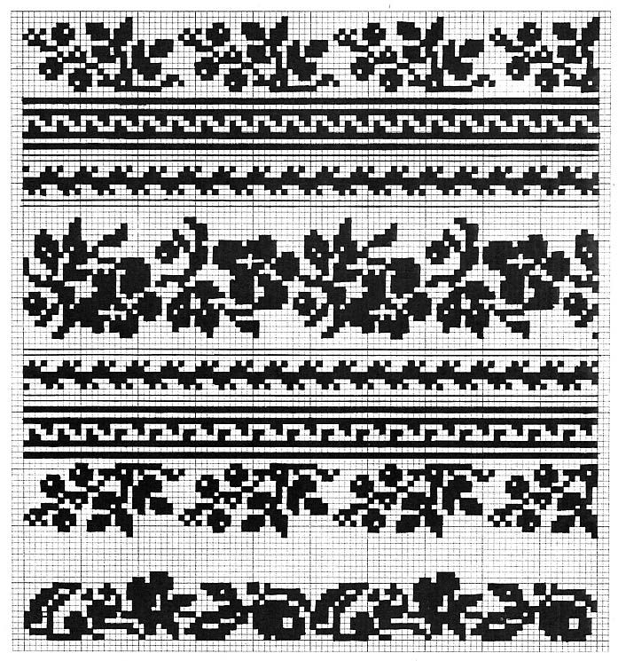 Embroidery of Sokal' region, Halychyna, Ukraine
