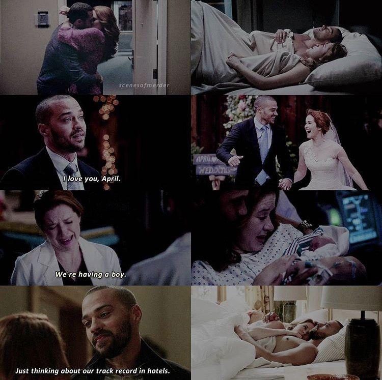 Grey\'s Anatomy — Jackson & April | TV | Pinterest