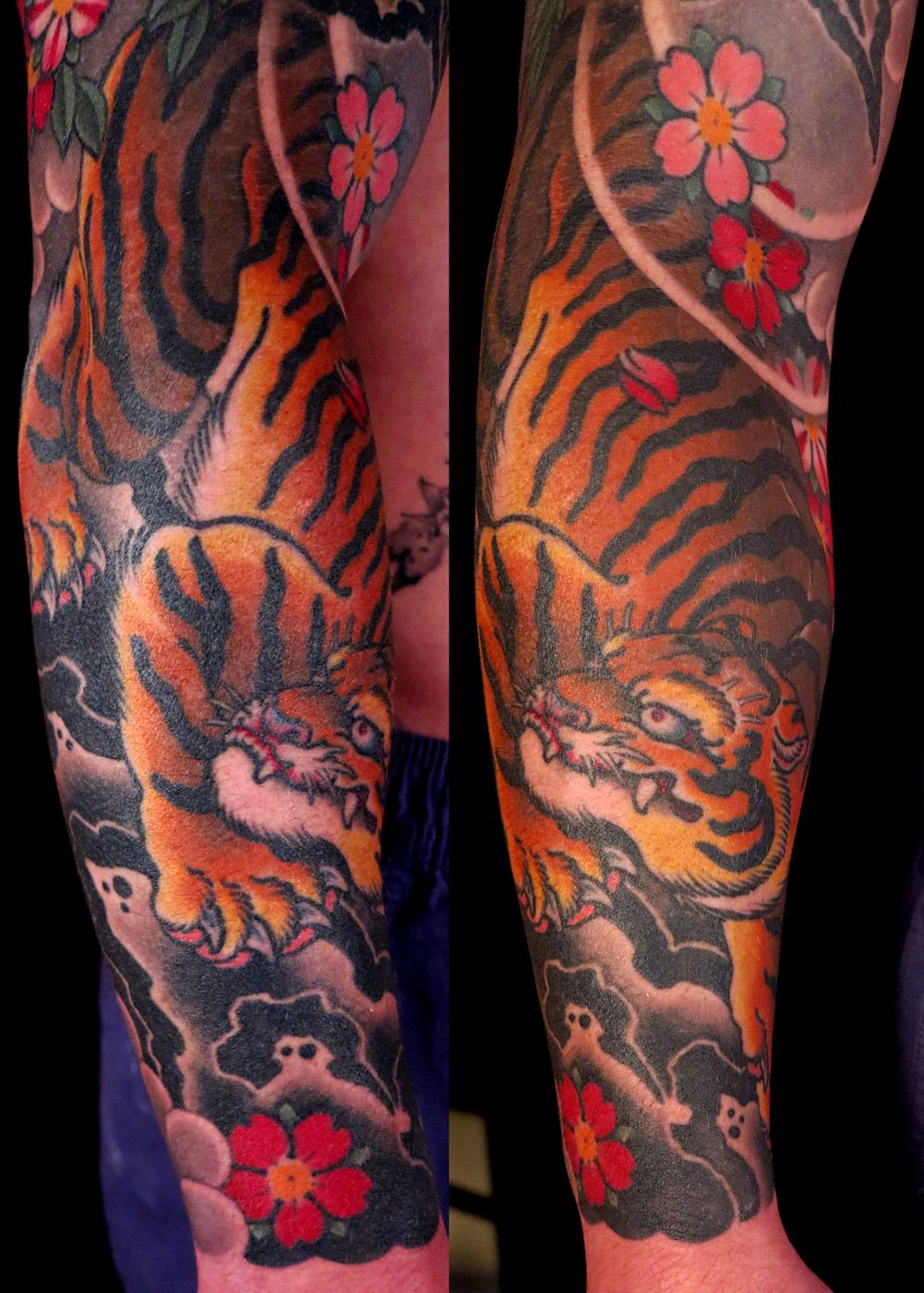 6fe9aa794 Download Free Alex Rusty Cairns Japanese tiger sleeve tattoo to use and take  to your artist.