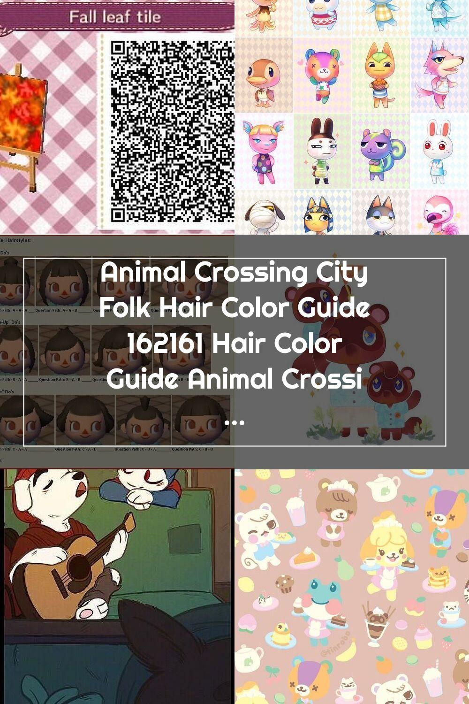 Animal Crossing City Folk Hair Color Guide 162161 Hair Color Guide Animal C In 2020 Animal Crossing Hair Color Guide City Folk