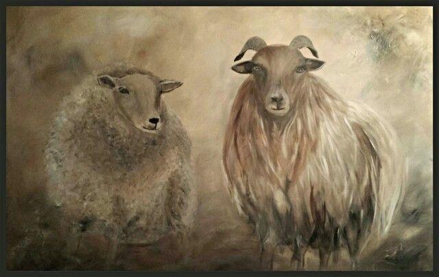 Landelijke kunst door Judith Razenberg 100x140