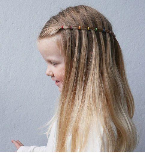 Imagenes de peinados faciles para el colegio