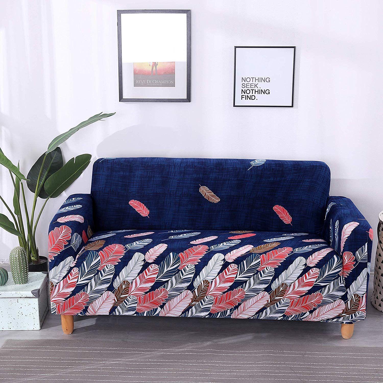 Lamberia Printed Sofa Cover Stretch Couch